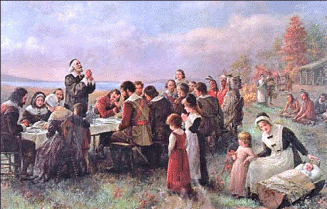 First Thanksgiving 1621